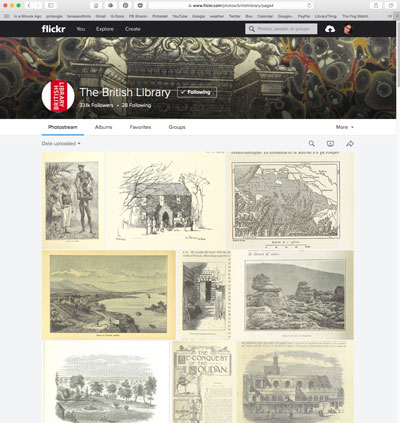 British Library flickr stream