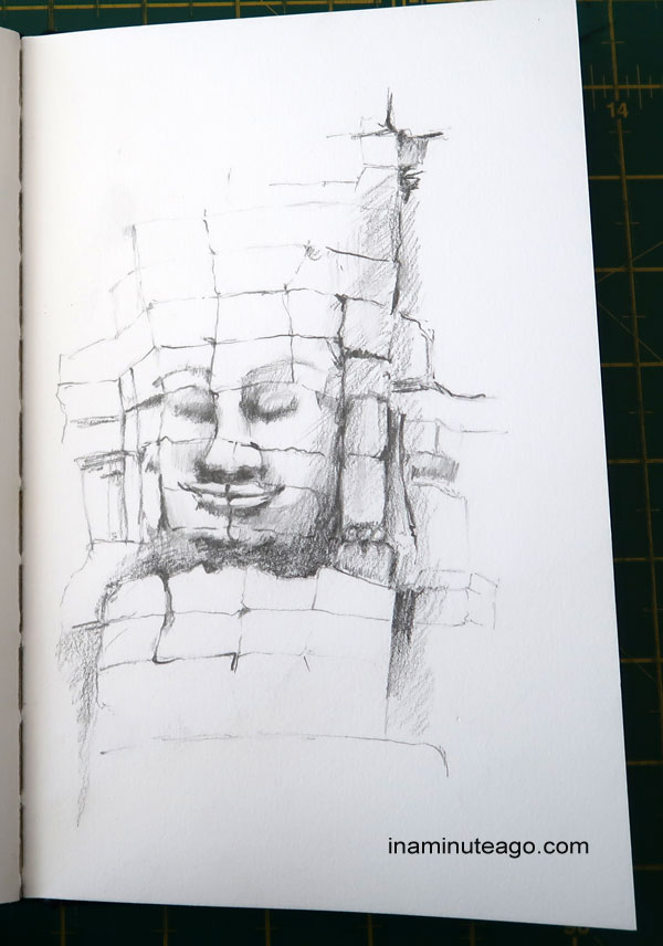 Sketch of the Bayon Temple