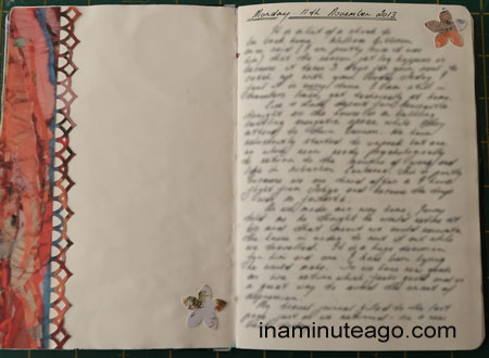 how to keep a journal page spread 2