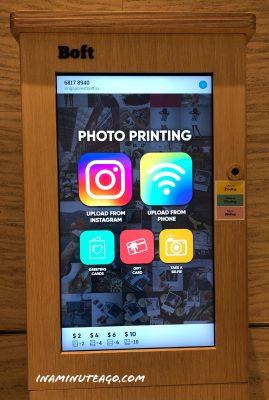 Travel journal tip 1 Print photos on demand photo booth