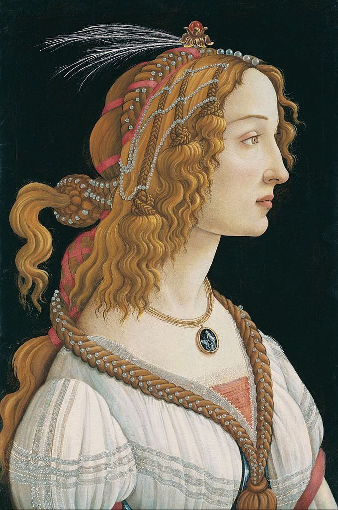 Portrait of a Young Woman by Sandro Boticelli