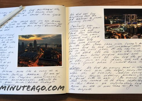 Travel Journal tip 1 from on the road