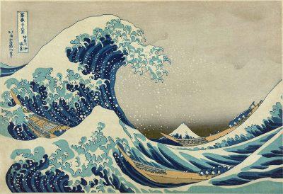 Great Wave off Kanagawa by Japanese artist Katsushika Hokusai