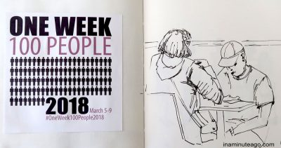 OneWeek100People2018 sketch 1