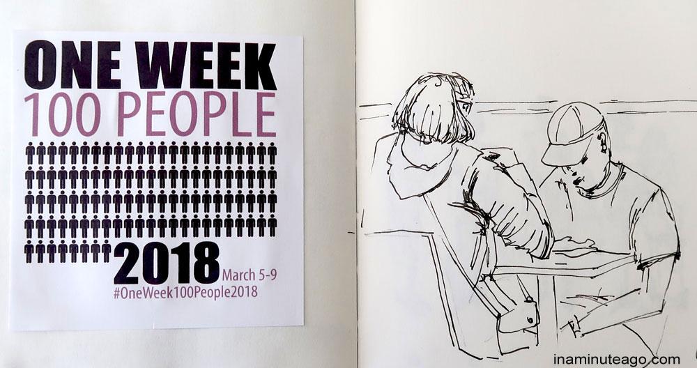 OneWeek100People2018 sketch 1