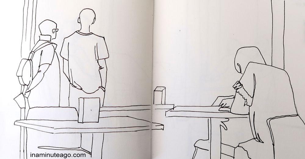 OneWeek100People2018 sketch 12