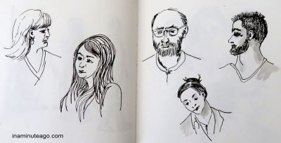 OneWeek100People2018 sketch 16
