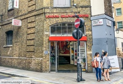 Art shops in London - London Graphics
