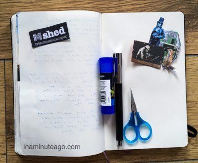 Travel journal tip 2 Ephemera