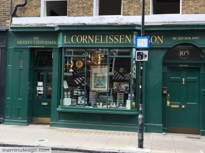 Art shops in London Cornellsens