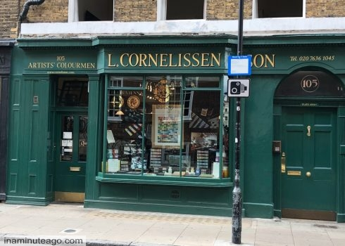 Three Great Art shops in London in zone one