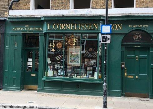 Three Great Art shops in London in zone one