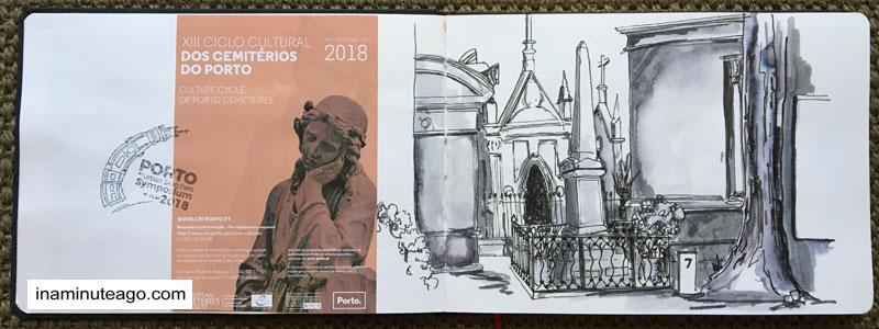 USK Symposium 2018 Porto cemetary