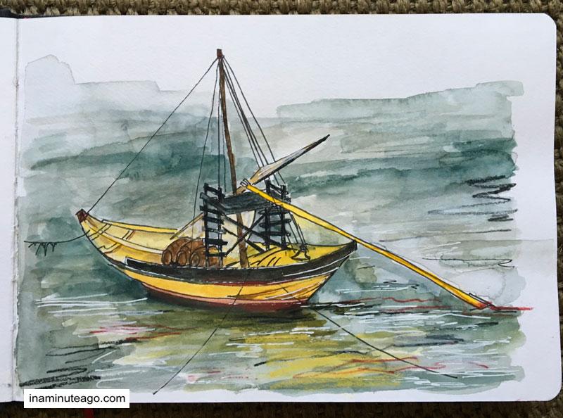 USK Symposium 2018 Porto boat