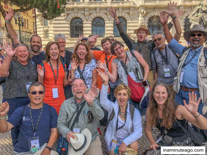 Aussies at USK Symposium 2018 Porto