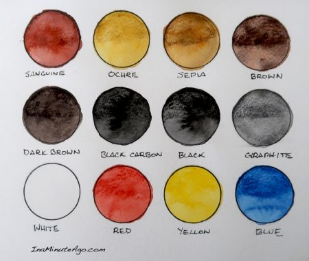 ArtGraf water soluble tailor shape tablet swatch range of colours