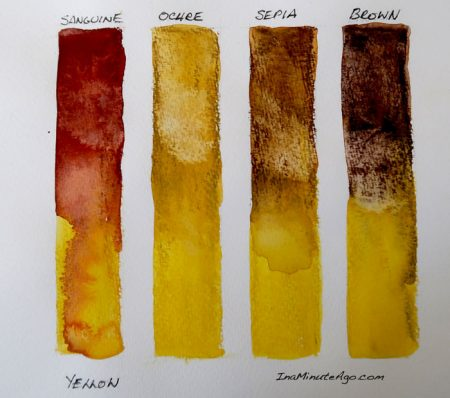 ArtGraf water soluble tailor shape tablet swatch yellow